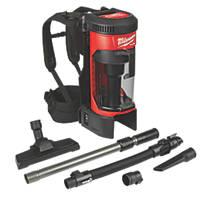 Milwaukee M18 FBPV-0 FUEL 18V Li-Ion RedLithium  Cordless Backpack Vacuum Cleaner - Bare