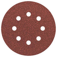 Bosch  Sanding Discs Punched 125mm 80 Grit 5 Pack