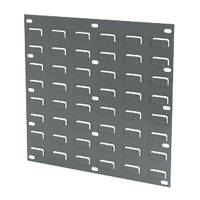 Wall Mounted Louvred Panel 2 Pack
