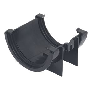 Floplast Mini Line Union Bracket 76mm Black Mini Line
