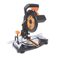 Evolution R210CMS 210mm Single-Bevel  Electric Compound Mitre Saw 240V