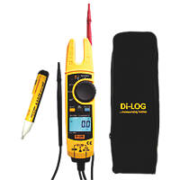 Di-Log DL6799 CombiVolt 5 Open Jaw 1000V 200A True RMS Electrical Tester
