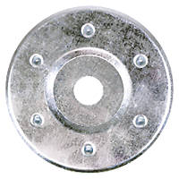 Timco Zinc-Plated Insulation Discs 85mm 50 Pack