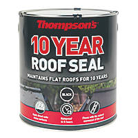 Thompsons 10 Year Roof Seal Black 4Ltr