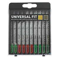 Universal T Wood & Metal Jigsaw Set 10 Pieces