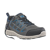 Site Crater   Safety Trainers Grey Size 8