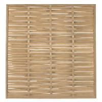 Forest WFP18PK3HD Woven  Fence Panel 6 x 6' Pack of 3
