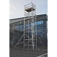 Lyte Helix Double Depth Aluminium Industrial Tower 7.7m