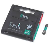 Wera Bit-Box Impaktor TriTorsion Diamond Coated Bits TX30 x 25mm 15 Pack