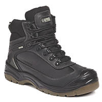 Apache Ranger   Safety Boots Black Size 8