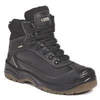 Apache Ranger   Safety Boots Black Size 8