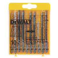 Dewalt Wood Jigsaw Blade Set 10 Pieces