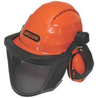 Oregon Waipoua Forestry Helmet with Ear Defenders & Visor