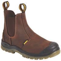 DeWalt Nitrogen   Safety Dealer Boots Brown Size 8