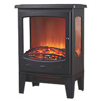 Focal Point Malmo Black Electric Stove