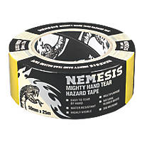Nemesis Hazard Tape Black / Yellow 50mm x 25m
