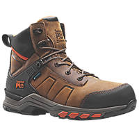 Timberland Pro Hypercharge   Safety Boots Brown/Orange  Size 12