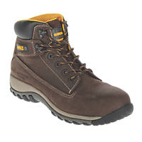 DeWalt Hammer   Safety Boots Brown Size 11