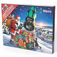 Wera 2020 Advent Calendar Screwdriver Set 24 Pieces