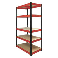 RB Boss Boltless Freestanding Shelving 1800 x 900 x 400 5-Tier 900 x 400 x 1800mm