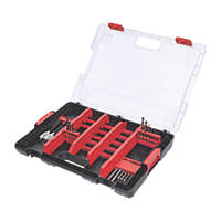 Milwaukee Straight & Hex Shank Heavy Duty Accessory Set 100 Piece Set