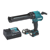 Makita CG100DWAEA 10.8/12V Li-Ion CXT  Cordless Caulking Gun