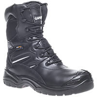 Apache Combat Metal Free  Safety Boots Black Size 9