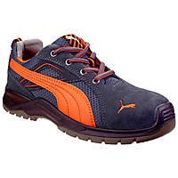 Puma Omni Flash Low   Safety Trainers Orange Size 8