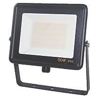 Brackenheath  LED Floodlight Black 50W 4500lm