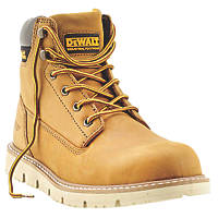 DeWalt Pittsburgh   Safety Boots Dark Honey Size 8