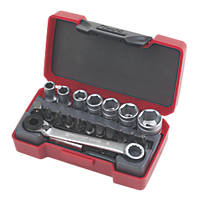 "Teng Tools T1420 1/4"" Drive Socket Set 20 Pcs"