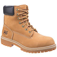 Timberland Pro Direct Attach  Ladies Safety Boots Honey Size 7