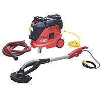 Flex GE 5R+ TB-L Electric Giraffe Long-Reach Drywall Sander & Vacuum Cleaner 110V
