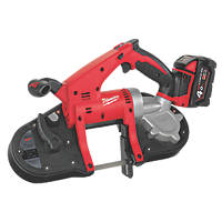 Milwaukee HD18BS-402C 85mm 18V 4.0Ah Li-Ion RedLithium Brushless Cordless Bandsaw