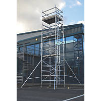 Lyte Helix Double Depth Aluminium Industrial Tower 7.2m
