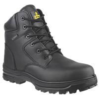 Amblers FS006C Metal Free  Safety Boots Black Size 11