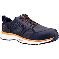Timberland Pro Reaxion Metal Free  Safety Trainers Black/Orange Size 6