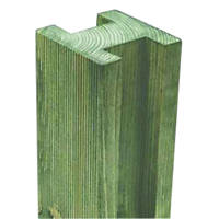 Forest Reeded Fence Posts 95 x 95mm x 2.4m 4 Pack