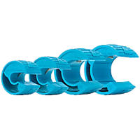 OX PolyZip 15, 22, 35 & 42mm Manual Plastic Pipe Cutter Set 4 Pieces