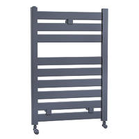 Cassellie Fewston Designer Towel Radiator 719 x 500mm Anthracite 1386BTU