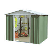 Yardmaster Sliding Door Apex Shed 8 x 9'