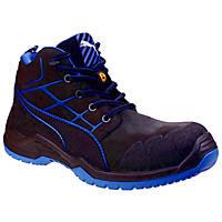 Puma Krypton Metal Free  Safety Boots Blue Size 8
