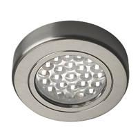 Sensio LED Cabinet Downlights Stainless Steel 3 Pack