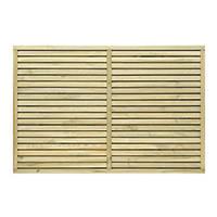 Grange Contemporary Fence Panel 1.8 x 1.2m 3 Pack