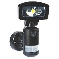 Nightwatcher NW720B 11W LED Robotic Light & HD Camera PIR Black 2GB