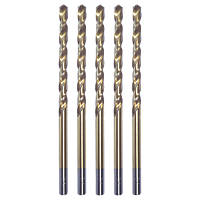 Erbauer HSS Long Drill Bits 6 x 139mm Pack of 5