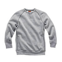 "Scruffs Trade Fleece Sweatshirt Grey Small 40"" Chest"