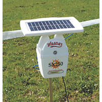 Stockshop SX250 Solar-Powered Electric Fence Energiser Battery-Powered