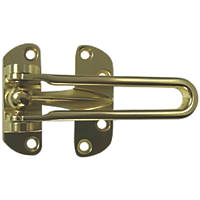 Smith & Locke Door Guard 106mm Brass Effect
