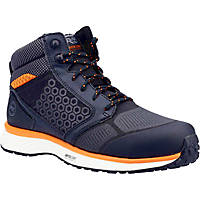 Timberland Pro Reaxion Mid Metal Free  Safety Trainer Boots Black/Orange Size 8